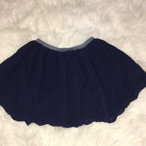 Girls OshKosh navy skirt